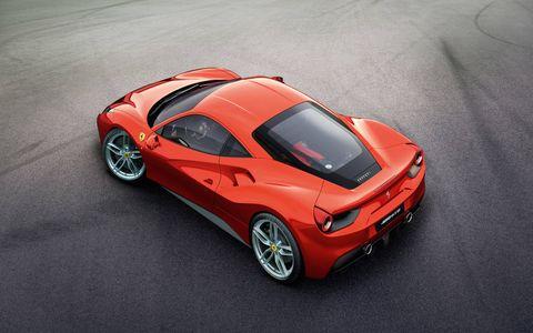 The Ferrari 488 GTB will debut at the Geneva Auto Show in March 2015.