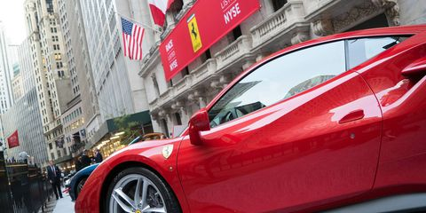 Finally, Ferrari-driving Wall Street types can trade Ferrari stock, ideally leading to big profits and the ability to purchase more Ferraris. It's a perfect cycle.