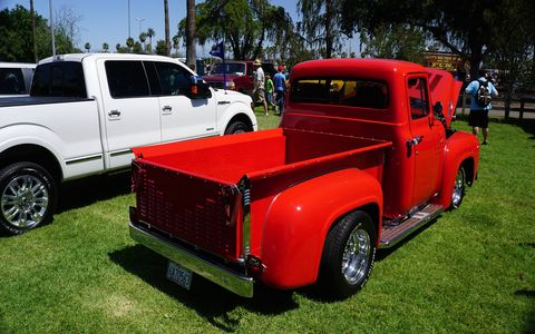 The F-150 is the number-one seller for Ford and there were many generations represented at Fabulous Fords Forever. Pick your favorite.