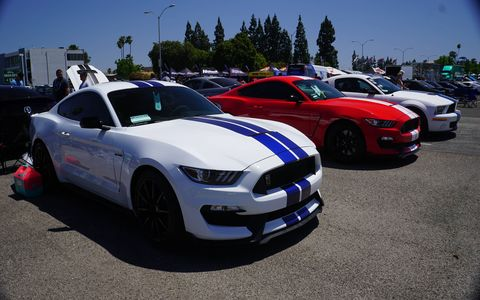 Of the 1,836 Fords that registered for Fabulous Fords Forever Sunday at Knott's Berry Farm, 1082 were Mustangs. Is there a better car on planet Earth? Not at Knott's, not Sunday. In the enduring Ford/Chevy war, last Sunday was a victory for Ford.