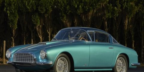 This Fiat 8V is one of nine coupes bodied by Vignale.