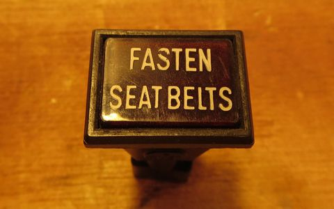 In addition to Fiats, Ferrari 308s also had this type of Fasten Seat Belt light.