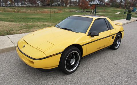 The Pontiac Fiero might not be as popular as a Firebird when it comes to collectors, but it's becoming quirky enough to be cool with age.