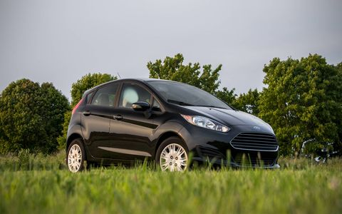 We tried the 2014 Ford Fiesta SFE 1.0-Liter EcoBoost in hatchback flavor, though it's available in sedan form as we..