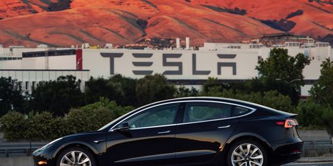 The Tesla Model 3 has started to increase deliveries.