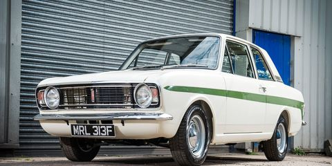 This 1968 Ford Lotus Cortina MkII is the recipient of a no-expense-spared resto.