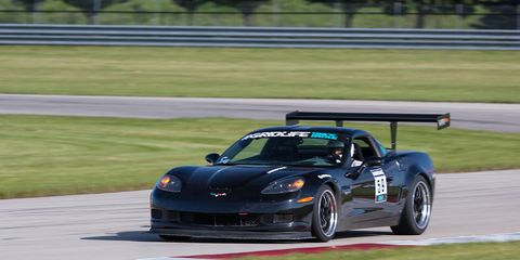 James Forbis in a Corvette and Jackie Ding in an S2000 both set class records in Street modified and Street respectively.