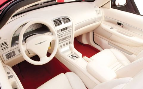 The interior is close to production form.