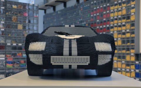 Ford went to master Lego modeler Pascal Lenhard to bring its latest Le Mans entry, and its predecessor, into brick form.