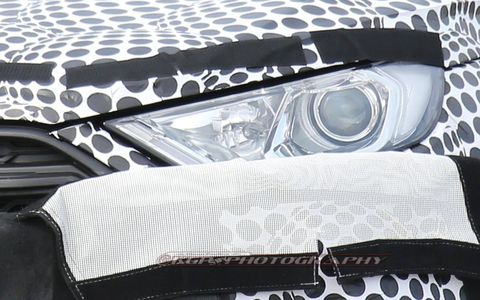 Spy shots of the 2017 Ford EcoSport compact SUV, expected to be unveiled in U.S. trim at the 2016 LA Auto Show.