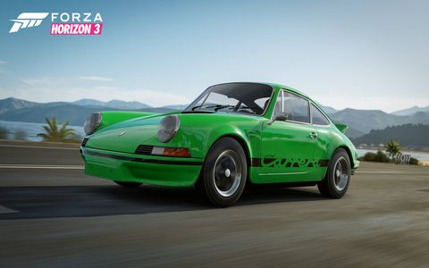 Porsche fanatics can download the 550A Spyder, the 718 RS 60 Spyder from 1960, the 911 Carrera RS 2.7 from 1973, the 911 GT2 (type 993), the Cayman GT4 and the 911 GT3 RS, as well as the new Panamera Turbo, for 7 bucks.