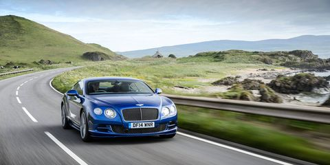 The 2015 Bentley Continental GT Speed isn't all-new, but it benefits from a series of subtle revisions.