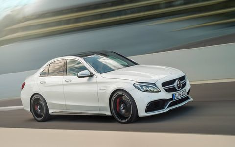 The new Mercedes-AMG C63 and C63 S are more powerful than the car they replace -- the well-loved Mercedes-Benz C63 AMG sedan.
