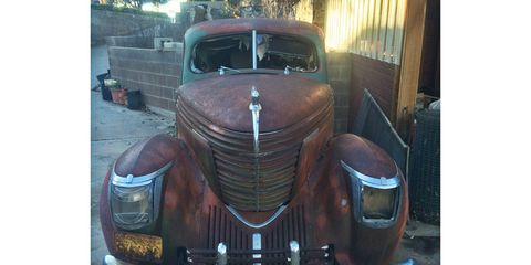 """This derelict 1938 Graham Model 96 """"Sharknose"""" sedan is available on eBay for $4,500, but it's not exactly in running condition. Is it worth the seemingly low price of entry?"""