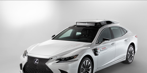 The P4 is the latest and most advanced autonomous research vehicle from the Toyota Research Institute. It debuted at CES.