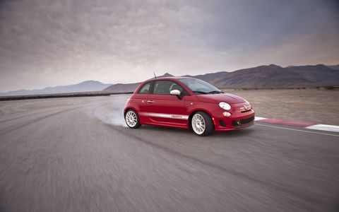 The turbocharged 1.4-liter MultiAir engine provides the Fiat 500 Abarth models with 157 horsepower and 183 lb.-ft. of torque.