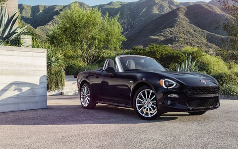 We drive the 2017 Fiat 124 Spider and 124 Spider Abarth convertibles. The modern incarnation of an Italian classic, the turbocharged 124 Spider shares its underpinnings with the Mazda MX-5, but it offers its own unique style and character.