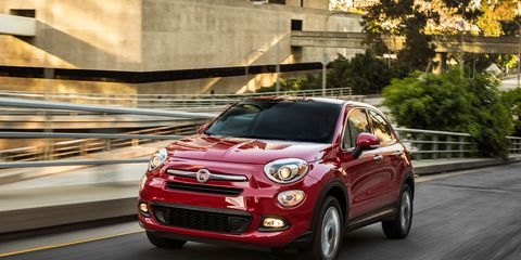 The 2018 Fiat 500X gets a 2.4-liter four and a nine-speed automatic.