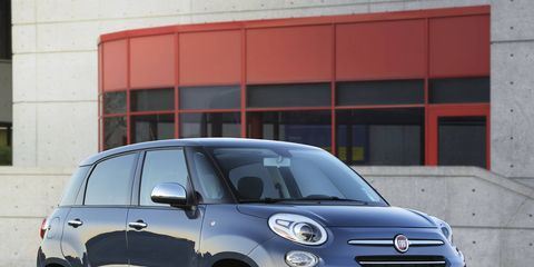 The 2018 Fiat 500L only comes with a 1.4-liter four making 160 hp.