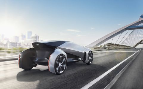 Jaguar Future Type a Concept considering 2040 and beyond