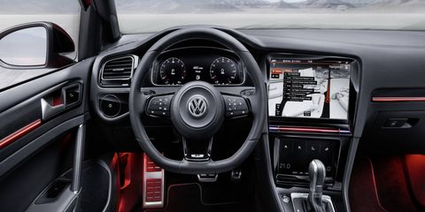 The next facelift of the Golf, due in late 2016, will be the first car to feature gesture controls.