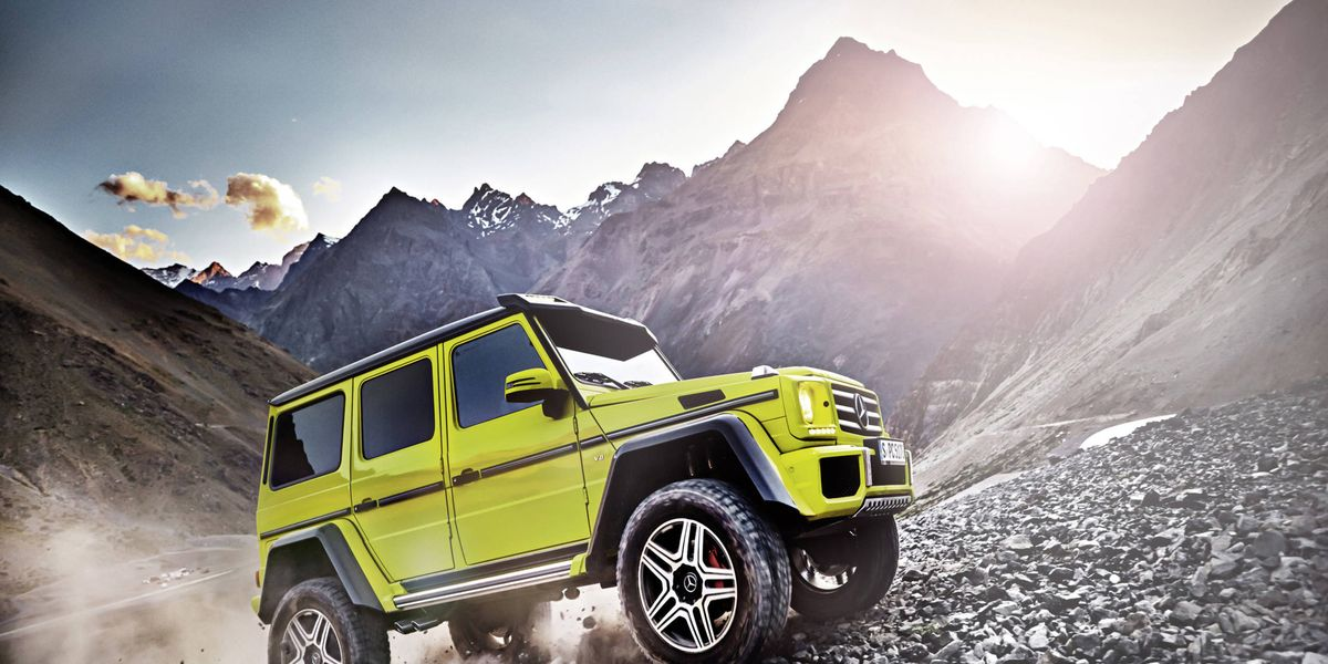 Mercedes G550 4x4 Will Be The Most Capable Square On Four Wheels