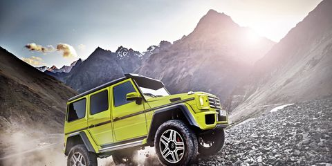 Mercedes will bring the G500 4x4 Squared to the States, the company has announced.