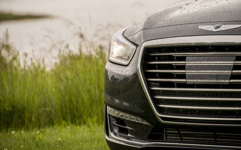 The Genesis G90 is the new brand's flagship, taking aim at the largest luxury sedans on the market in the U.S.
