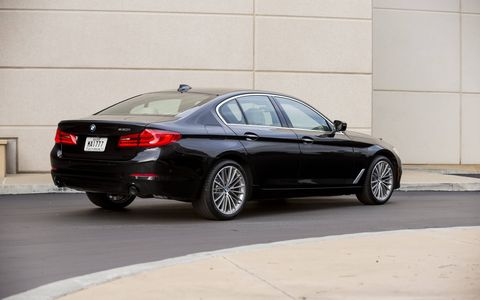 "This 5-Series has 23 grand in options, or as young Wes would say, ""that's the price of a Honda Civic!"""