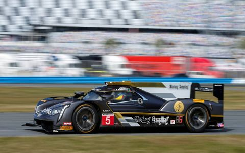 Prototype; No. 5 Mustang Sampling Racing