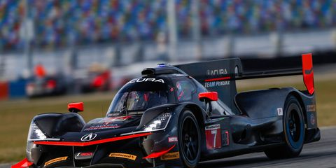 Acura Team Penske'a Acura DPi is expected to be in the mix for Prototype honors and will feature drivers Helio Castroneves, Ricky Taylor and Graham Rahal for the Rolex 24 at Daytona.
