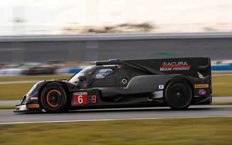 Prototype: No. 6 Acura Team Penske Acura DPi Dane Cameron/Juan Pablo Montoya/Simon Pagenaud