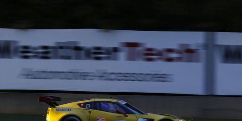 The No. 3 Corvette Racing Corvette C7.R team finished second Saturday.