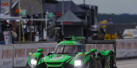 It was PIpo Derani's third WeatherTech Championship race win and first since he teamed with Johannes van Overbeek, Scott Sharp and Ed Brown