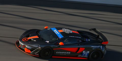 Friday's victory was the third IMSA win for the manufacturer since joining the series in 2017.