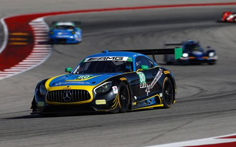 Sights from Friday's IMSA action at the Circuit of The Americas.