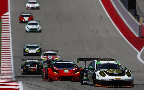 Sights from Saturday's IMSA action at the Circuit of The Americas.