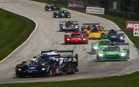 Sights from the IMSA  Continental Tire Road Race Showcase at Road America, Sunday Aug. 6, 2017.