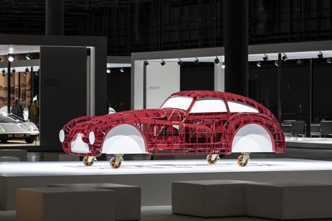 Here's a structural model of an Alfa_Romeo_6C_2500_Competizione