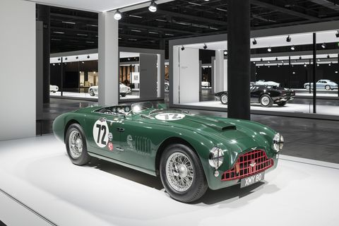 Last week, Grand Basel showcased 113 cars from all over Europe. Here are some more of our favorites. This is a 1952 Aston Martin DB3