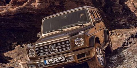Everything up front has been revised and gives the G-Class a more modern feel despite the old-school shape.