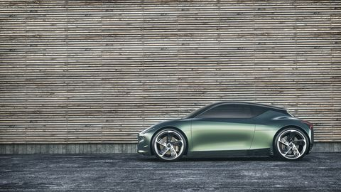 The Genesis Mint concept previews a small electric city car. It's been unveiled ahead of the 2019 New York auto show.