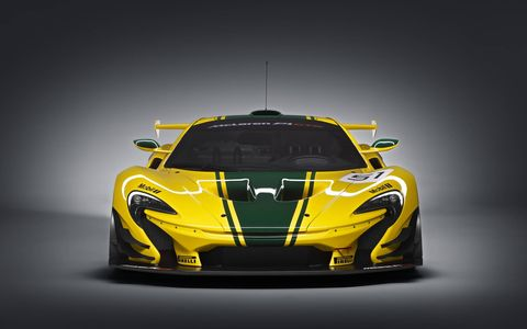 Geneva Show car livery inspired by iconic McLaren F1 GTR, chassis #06R