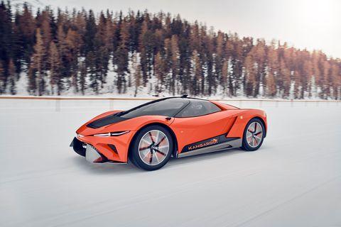 """I have tried to imagine the future of electric hedonistic cars,"" said Fabrizio Giugiaro"