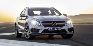 The AMG 2.0-liter turbo engine is one of the most powerful series-production four-cylinder turbo engines in the world.