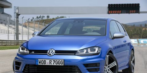 The Golf R Euro-Spec is more or less the same version that the U.S. will get.