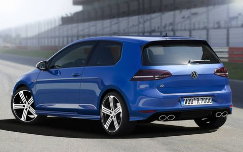 The euro-spec version will receive 295 hp to our 290.