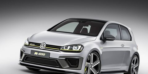 Volkswagen is bringing the Golf R400 394-hp hot hatch to Los Angeles, but when will we hear about production chances?