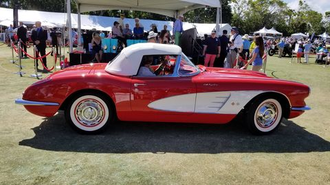 This year's Boca Raton Concours d'Elegance featured guest judging from Jay Leno and Tim Allen and some of the finest cars in the country.