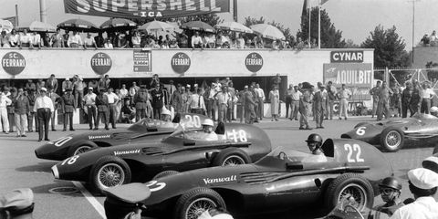 Vanwall's 1958 championship changed Grand Prix racing forever